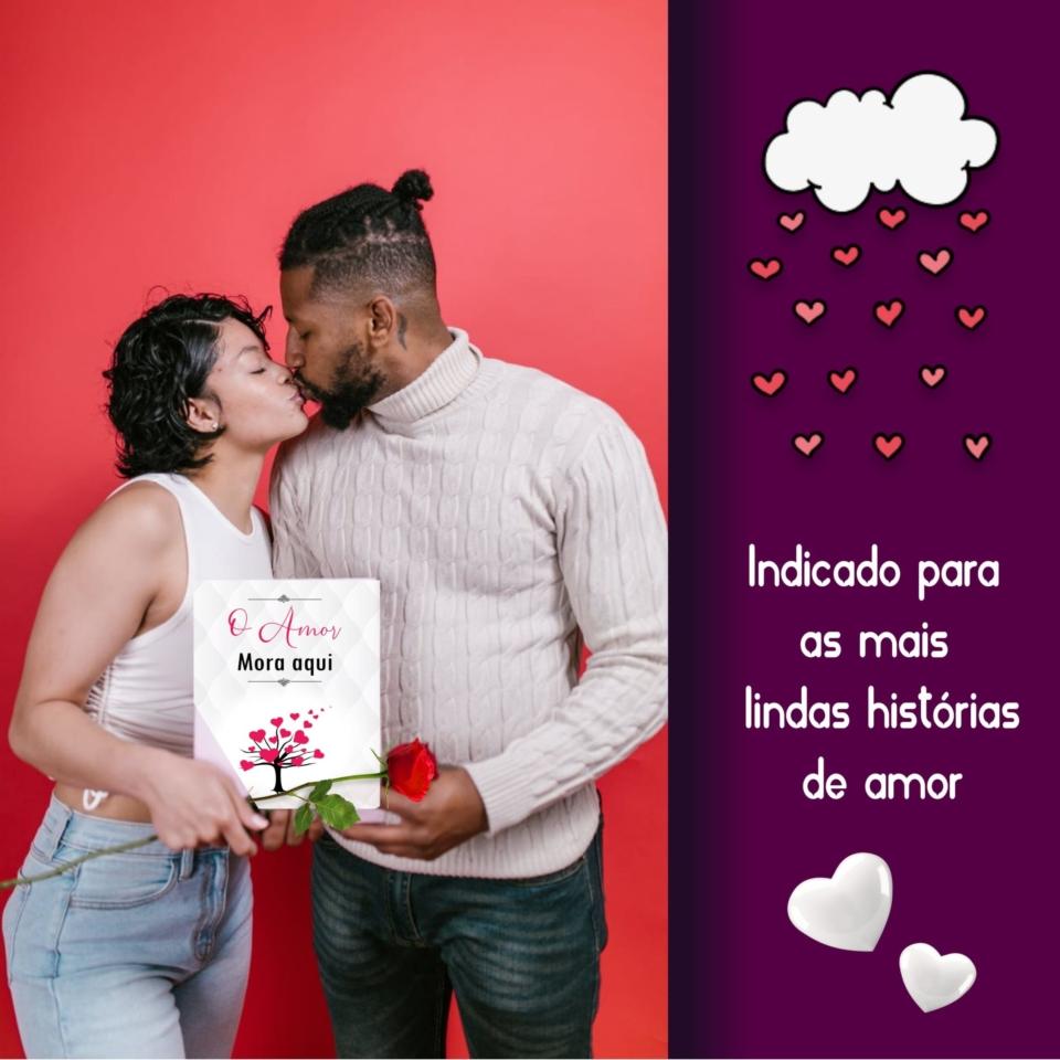 Amando Figurinhas O Amor Mora Aqui Banner 1