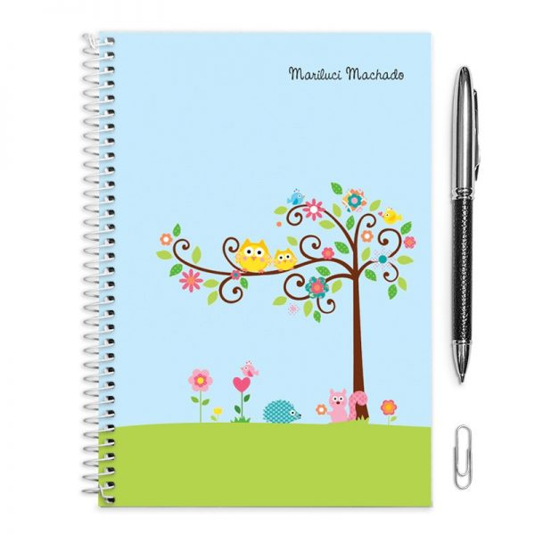 Caderno e Caneta